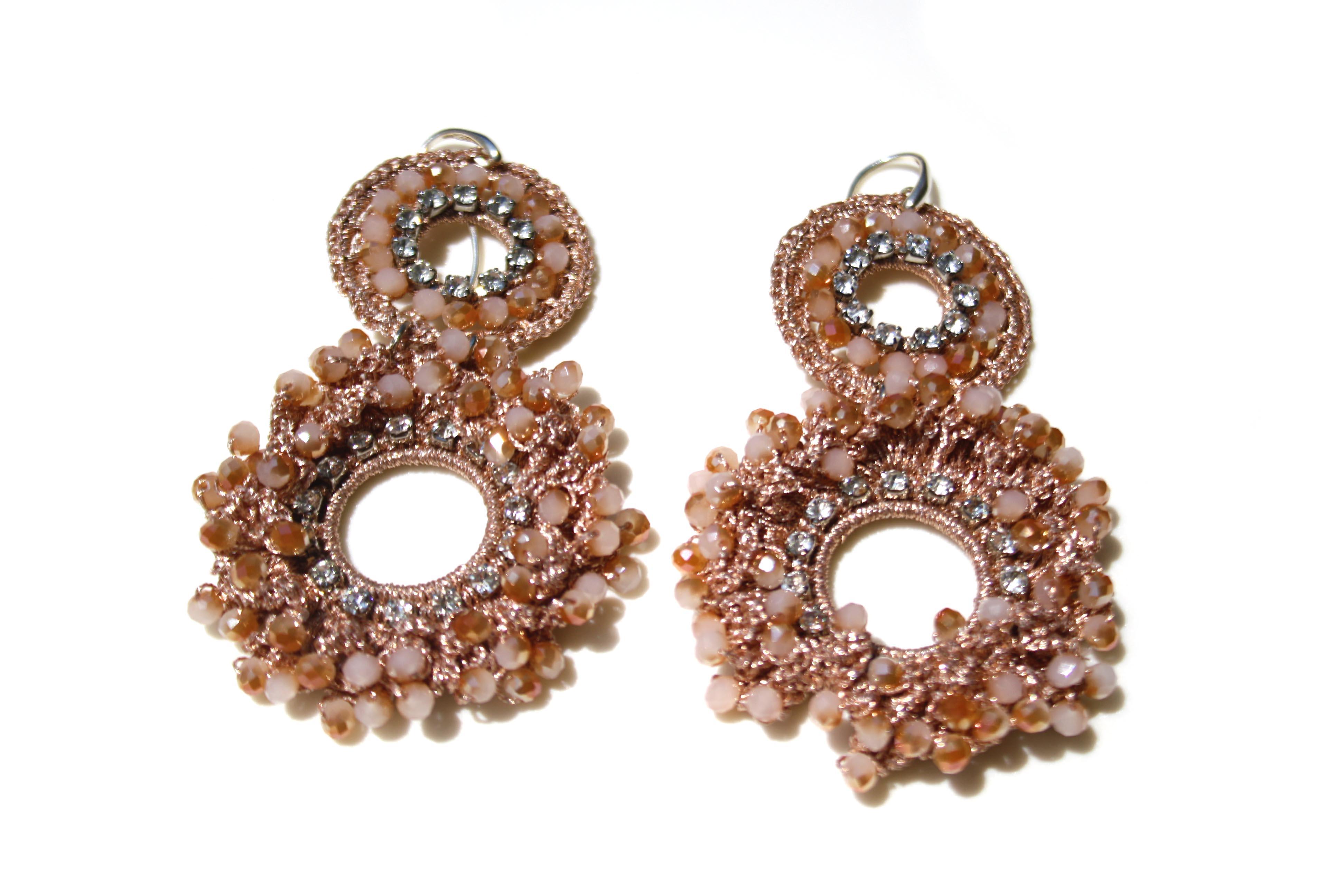 orecchini con cristalli swarovski